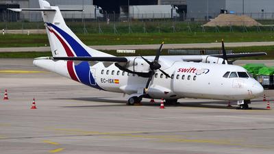 A picture of ECISX - ATR 42300(F) - Swiftair - © Thomas Schmidt-Blindenhöfer