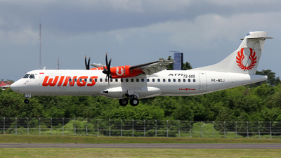 PK-WGJ - ATR 72-212A(600) - Wings Air