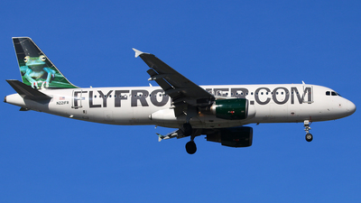 N221FR - Airbus A320-214 - Frontier Airlines