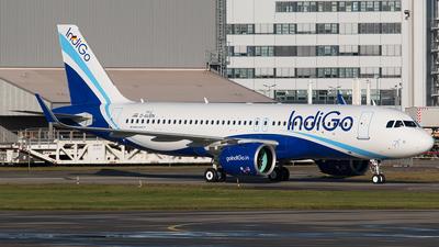 D-AUBN - Airbus A320-271N - IndiGo Airlines