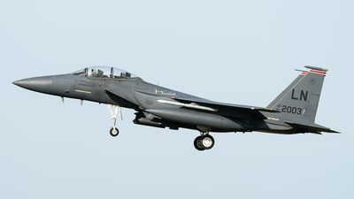 01-2003 - Boeing F-15E Strike Eagle - United States - US Air Force (USAF)