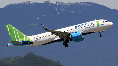 A picture of VNA593 - Airbus A320251N - Bamboo Airways - © photogiap