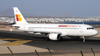 EC-LUC - Airbus A320-214 - Iberia Express