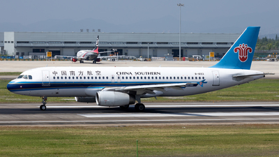 A picture of B1653 - Airbus A320232 - China Southern Airlines - © XPHNGB