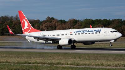 A picture of TCJYB - Boeing 7379F2(ER) - Turkish Airlines - © Joel Basler