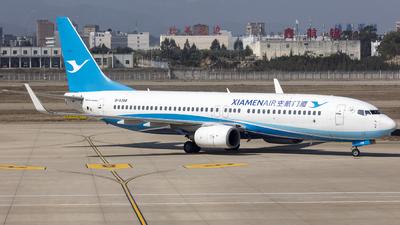 A picture of B5388 - Boeing 73786N - Xiamen Air - © Eric Wang