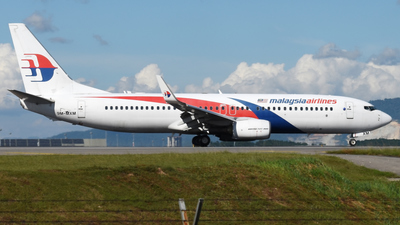A picture of 9MMXM - Boeing 7378H6 - Malaysia Airlines - © Vicknesh PS