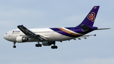 HS-TAY - Airbus A300B4-622R - Thai Airways International