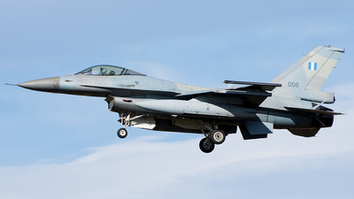 008 - General Dynamics F-16C Fighting Falcon - Greece - Air Force