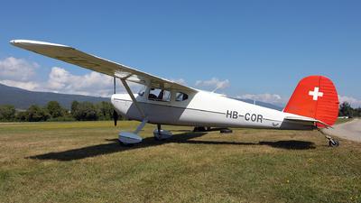 HB-COR - Cessna 140A - Private