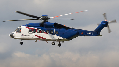 G-XCII - Sikorsky S-92A Helibus - Bristow Helicopters