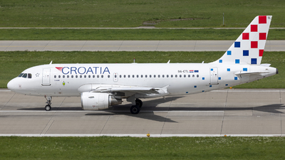 A picture of 9ACTL - Airbus A319112 - Croatia Airlines - © Dranob