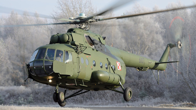 6107 - Mil Mi-8MTV-1 Hip - Poland - Army