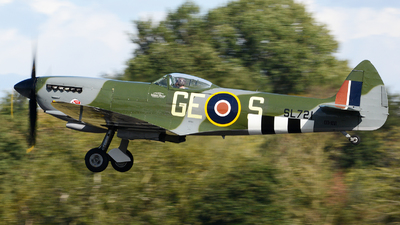 OO-XVI - Supermarine Spitfire Mk.XVI - Private