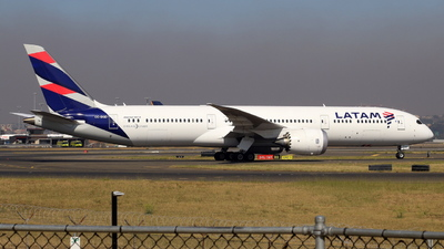 A picture of CCBGD - Boeing 7879 Dreamliner - LATAM Airlines - © F.Wolf