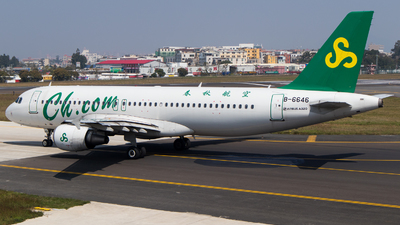 B-6646 - Airbus A320-214 - Spring Airlines
