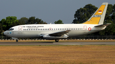 AI-7304 - Boeing 737-2Q8(Adv) - Indonesia - Air Force