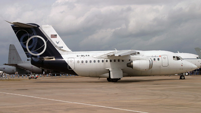 G-BLRA - British Aerospace BAe 146-100 - BAe Systems