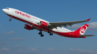 D-AERK - Airbus A330-322 - Air Berlin