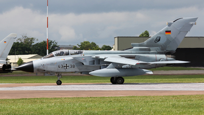 43-38 - Panavia Tornado IDS - Germany - Air Force