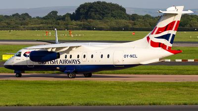 OY-NCL - Dornier Do-328-300 Jet - British Airways (Sun-Air)