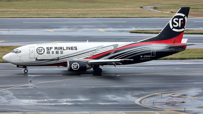 A picture of B2966 - Boeing 73733A(SF) - SF Airlines - © Ethan Tang