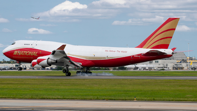 N936CA - Boeing 747-446(BCF) - National Airlines