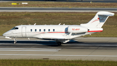 A picture of TCAFF - Bombardier Challenger 300 - [20145] - © Alp AKBOSTANCI