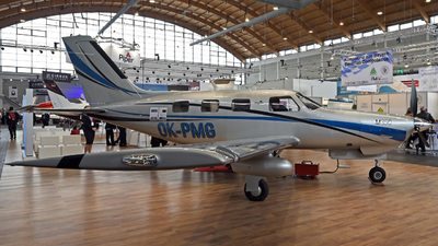 A picture of OKPMG - Piper PA46M350 - OK Aviation Group - © Mirko Bleuer