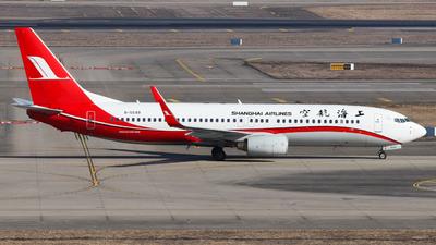 B-5549 - Boeing 737-86N - Shanghai Airlines