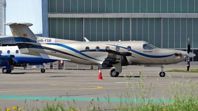 A picture of HBFSB - Pilatus PC12/47E - Pilatus Flugzeugwerke - © Mirko Bleuer