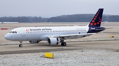OE-IFU - Airbus A320-214 - Brussels Airlines