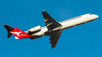 VH-NHA - Fokker 100 - QantasLink (Network Aviation)