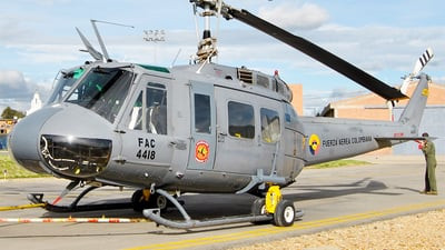 FAC4418 - Bell UH-1H Huey II - Colombia - Air Force