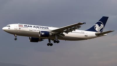 EP-MNU - Airbus A300B4-605R - Mahan Air