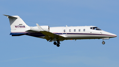 N178AM - Bombardier Learjet 55C - Private