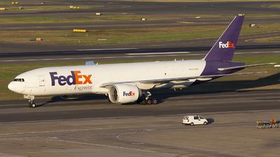 A picture of N884FD - Boeing 777FS2 - FedEx - © MQ1131