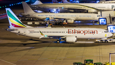 A picture of ETAVK - Boeing 737 MAX 8 - Ethiopian Airlines - © Tony Woof