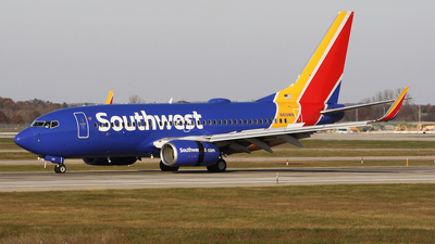 N419WN - Boeing 737-7H4 - Southwest Airlines