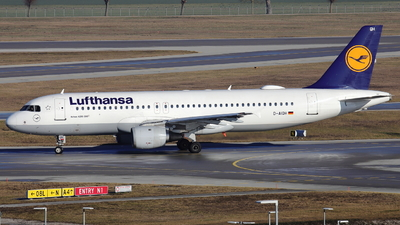 D-AIQH - Airbus A320-211 - Lufthansa