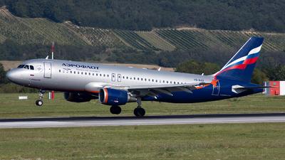 VQ-BAX - Airbus A320-214 - Aeroflot