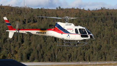 LN-OXF - Eurocopter AS 350B3 Ecureuil - Airlift