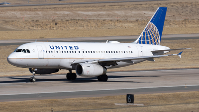 A picture of N821UA - Airbus A319131 - United Airlines - © Yixin Chen