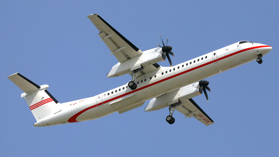 A picture of A6ADK - De Havilland Canada Dash 8400 - [4222] - © Daniel Klein