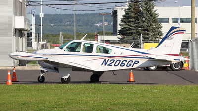 N206GP - Beechcraft F33A Bonanza - Private