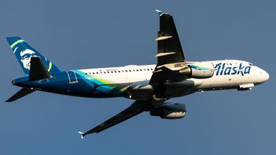 N622VA - Airbus A320-214 - Alaska Airlines