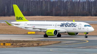 YL-CSM - Airbus A220-371 - Air Baltic