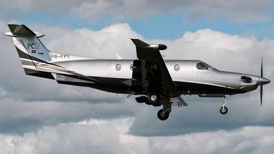 A picture of HBFPY - Pilatus PC12/47 - [685] - © Andrea Buzzacchi
