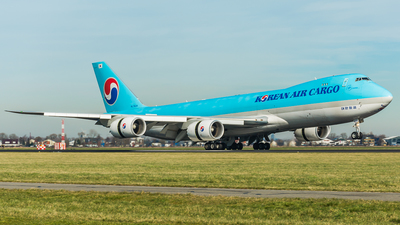 HL7629 - Boeing 747-8B5F - Korean Air Cargo