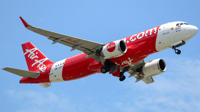 A picture of 9MAGF - Airbus A320251N - AirAsia - © Kody Chin